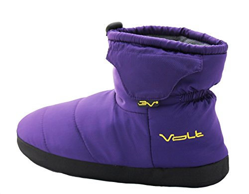 Purple Battery Heated VOLT VOLT Purple Heated Battery Slippers Slippers E61qwHPWq