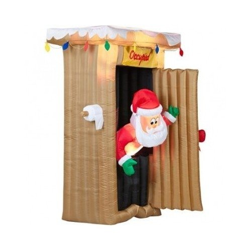6' Tall Animated Airblown Christmas Infl - Animated Airblown Santas Shopping Results