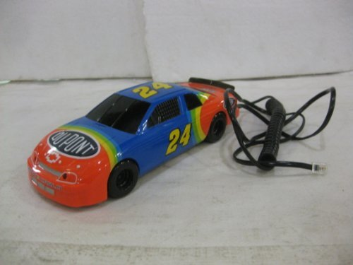 phone Jeff Gordon Fone #24 Nascar Race Car by Columbia Tel-Com