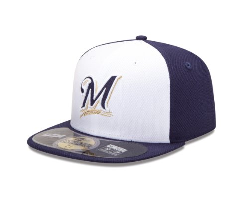 MLB Milwaukee Brewers Diamond Era 59Fifty Baseball Cap,Milwaukee - 59fifty Fitted Hat Yellow