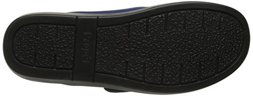 Propét Womens Cush N Foot Slipper Navy