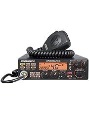 Radio CB President Lincoln II ASC, Roger BEP, ANL, NB, Hi-Cut-Filter, AM-FM-USB-LSB-CW, Programabila, 12V