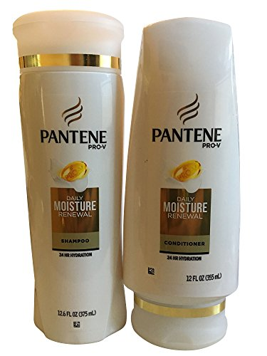 Pantene Daily Moisture Renewal Duo set, 12.6 Oz Shampoo and