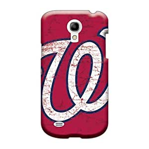 Shock Absorption Hard Cell-phone Cases For Samsung Galaxy S4 Mini (hJV24409oymN) Customized Vivid Washington Nationals Skin