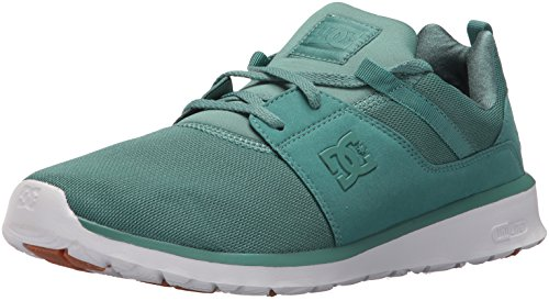 DC Men's Heathrow Skate Shoe, Grass, 10 D US