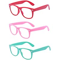 Outray Kids Children Nerd Retro Clear Lens Eye Glasses Age 3-10