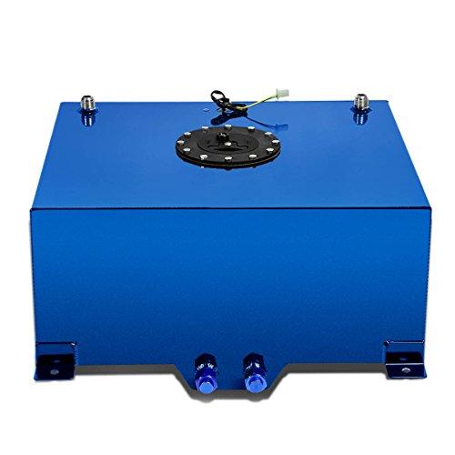 (DNA MOTORING Blue ALU-FT-T6-BL Aluminum 15-Gallon Fuel Cell Gas Tank )