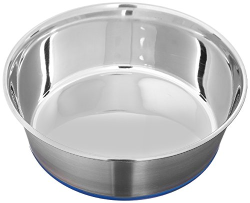 (2 Pack) Our Pets Durapet Stainless Steel Dog Bowls - 1.75 Quarts