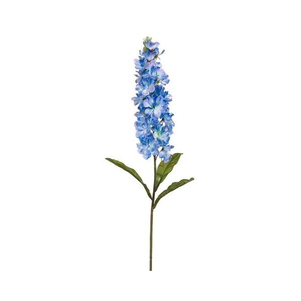 26.5″ Stock Flower Spray Blue Helio (Pack of 12)