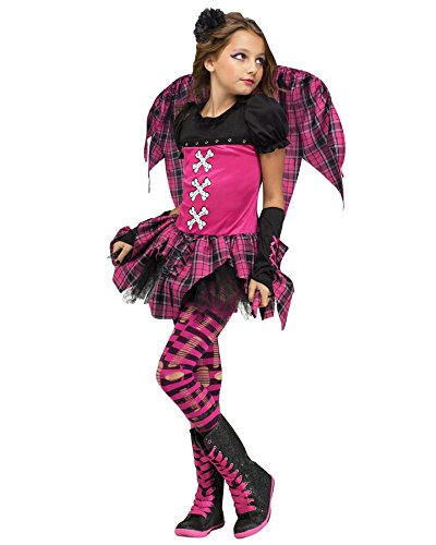 Pink Punk Fairy Child Costume