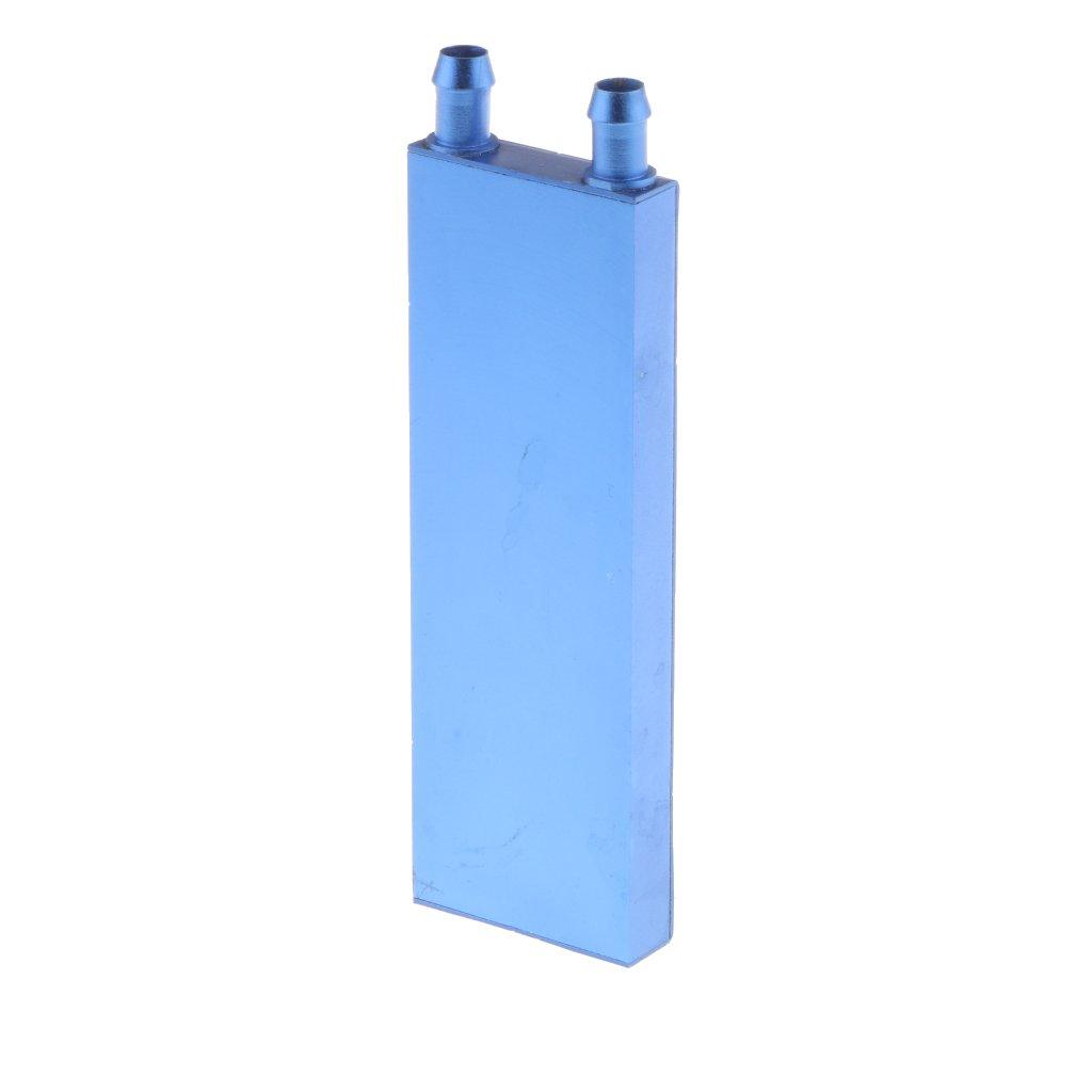 MagiDeal Bloque de Enfriamiento de Agua de Aluminio Para Disipador de Calor Radiador de Gráficos de CPU: Amazon.es: Electrónica