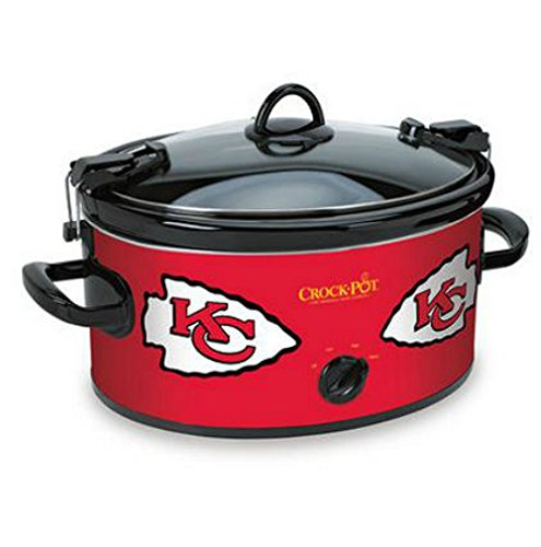Official NFL Crock-pot Cook & Carry 6 Quart Slow Cooker – Kansas City Chiefs For Sale