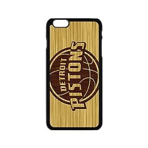 Detroit Pistong Black iPhone plus 6 case