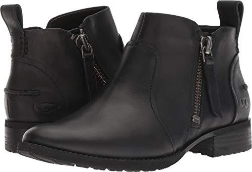 - UGG Women's AUREO Ankle Boot, Black 1, 6 M US