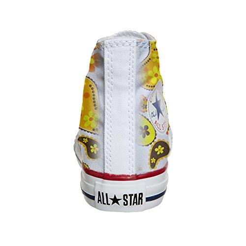 Coutume Converse Chaussures Hi produit All Artisanal Paisley Star Hippie qwBBHfI