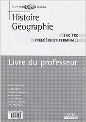 Histoire-géographie, Bac pro (Manuel du professeur)