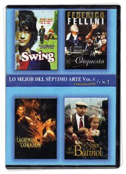 Pack 4-Movie Set: Swing - Prova d'orchestra - The Man Who Cried - Monsieur Batignole DVD Import Region 1 Ntsc Spanish Cover & Subtitles