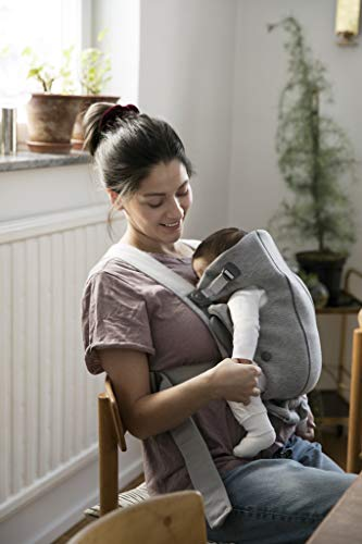 BABYBJORN Baby Carrier Mini in 3D Jersey, Light Grey by BabyBjörn (Image #1)