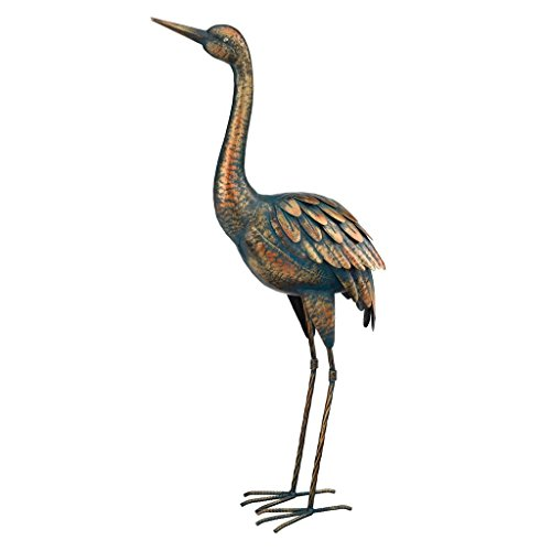 Regal Art & Gift 11292 Patina Crane, 26.5