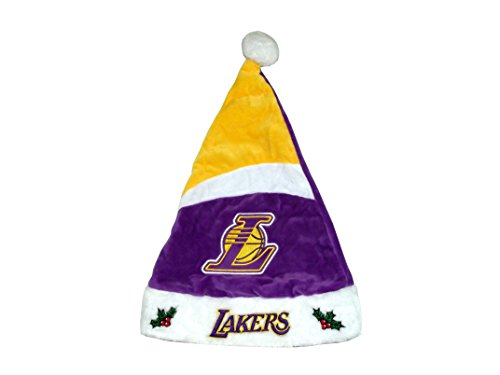 NBA Teams Santa Hats (Los Angeles Lakers) (Lakers Costume)