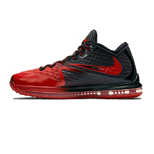 Nike Herren Field General 2 Basketballschuhe Schwarz / Bright Crimson / Universität Rot