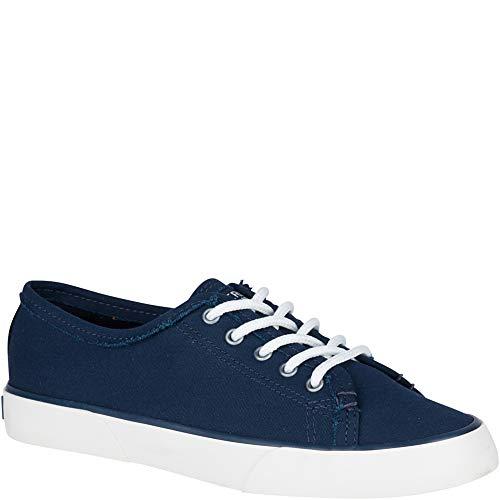 Sperry Top-Sider Pier Fray Sneaker Women 10 Navy (Sperrys Womans 10 Size)