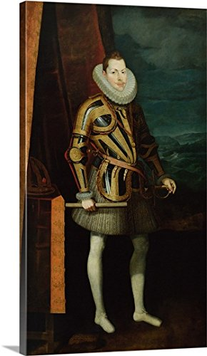 Philip III (1578-1621) King of Spain, 1606 (oil on canvas) Gallery-Wrapped Canvas by greatBIGcanvas