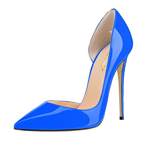 Guoar - Cerrado Mujer - C-Blau Lackleder