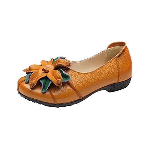 GHrcvdhw Classic Soft-Soled Women Slippers Coarse-Heeled Hollowing Out Flower Women Sandals Shoes