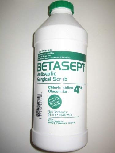 Betasept Antiseptic Surgical Scrub 32 OZ, 1 Pack by Betasept
