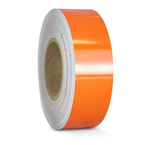 Orange Reflective Tape (T.R.U. REF-7 Orange Engineering Grade Reflective Tape: 1 in. wide x 30 ft. length)