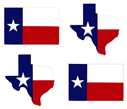 wheezeway Texas Lone Star State Flag Bumper Sticker Decal