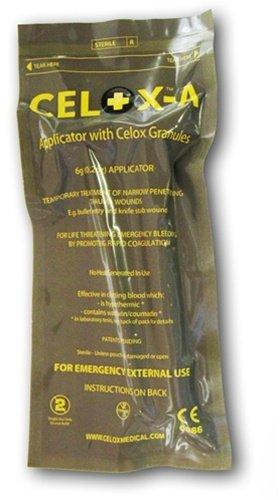Celox V12090 Blood Clotting Granule Applicator and Plunger Set, 6 grams by CELOX