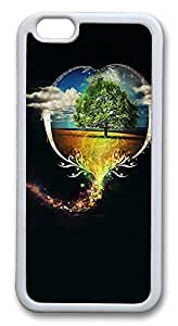 """ICORER Beautiful iphone 6 plus Case, Best Cool Creative Durable Case Cover for Apple iPhone 6 Plus with 5.5"""" Screen TPU White"""