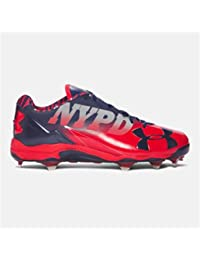 Under Armour Deception Low DT LE Baseball Cleats Red/Midnight Sz 16 M