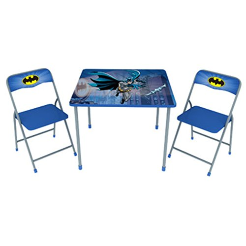 Batman Children's Metal Folding Table and Chair Set by okid