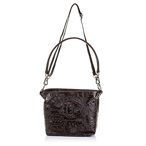 Dark Women's Artegiani Brown Black Firenze Tote Bag xCUwqdO