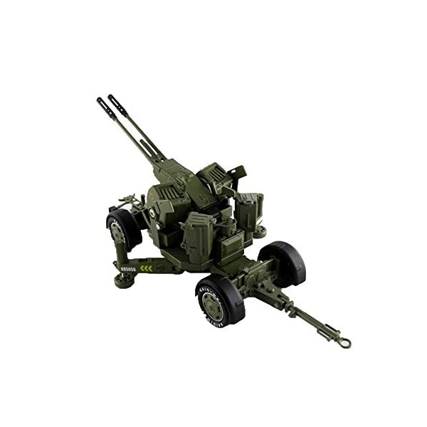 LXWM 1/35 Model Military Toys Anti-Aircraft Weapon System Aircraft Anti-Aircraft Gun Diecast Metal Toy Model for… 1