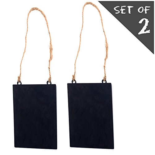 Metal Chalkboard Hanger Message Boards