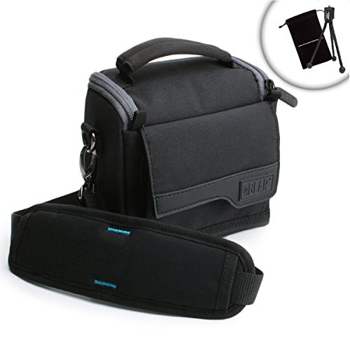 Kodak Mini Mobile Wi-Fi & NFC Portable Photo Printer Accessories Carrying Case Adjustable Shoulder Strap, Reinforced Zippers Accessory Pouches USA GEAR