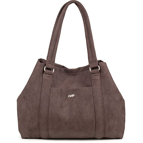 Con Brown Manici Due Borsa Resi wqgEEB7xR