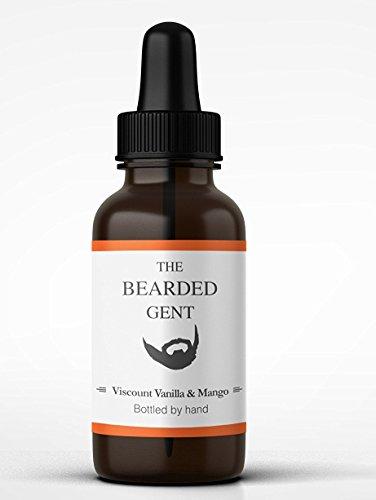 The Bearded Gent's Beard Oil - (Vanilla & Mango) 14 Scents available!...