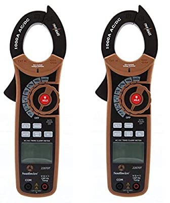 Southwire Tools & Equipment 22070T 1000A AC/DC TrueRMS Clamp Meter, Multimeter with 12 Functions