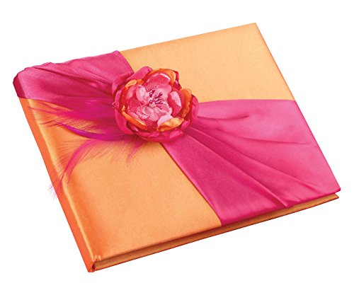 Lillian Rose Wedding Ceremony Hot Pink and Orange Guest Book GB830]()
