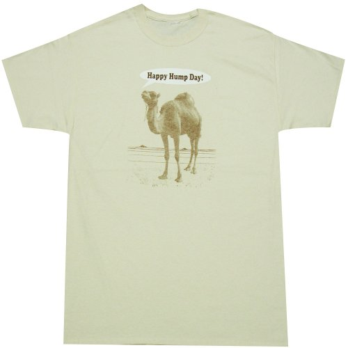 Happy Hump Day Camel T-shirt (X-Large)