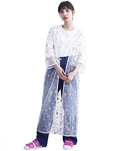 (メルロー) merlot チュール花柄刺繍ロングガウン714-1527 818207141527