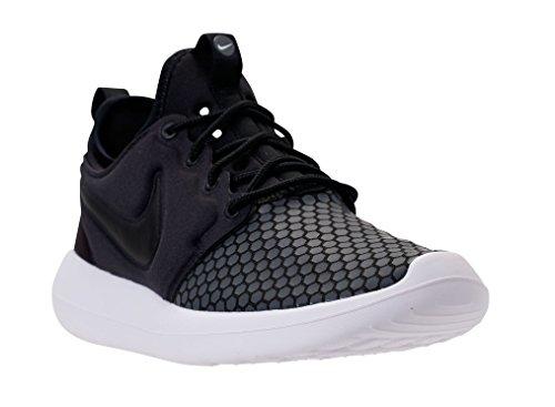 Nike Mens Roshe Two (se) Scarpe Da Corsa Nero / Nero-bianco-grigio Scuro 918245-001 (us 11.5)