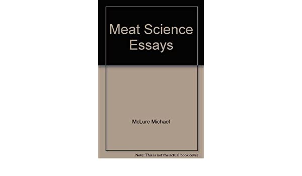 Meat Science Essays Michael Mcclure Amazoncom Books