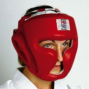 ProForceレッドビニールFull Faceボクシング/ Faceボクシング/ MMA Headgear by Pro Pro Force B013XRBAXC B013XRBAXC, ペットグッズのモモゼット:8bb530b2 --- capela.dominiotemporario.com