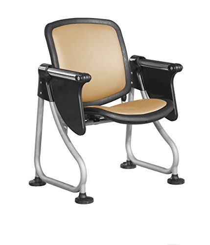 (OFM K212T-PEACH-SLV ReadyLink Row Starter Chair with Tablet)
